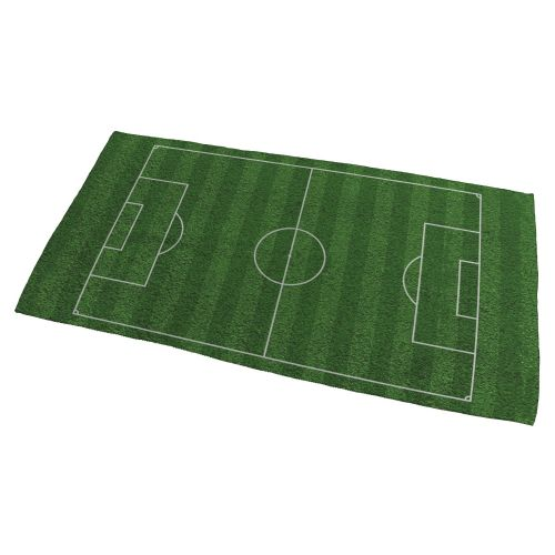 Football Pitch Bath Towel - Small